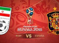 España-Irán.  Mundial Rusia🇷🇺