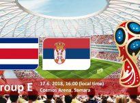 Costa Rica - Serbia (Mundial de Rusia 2018)